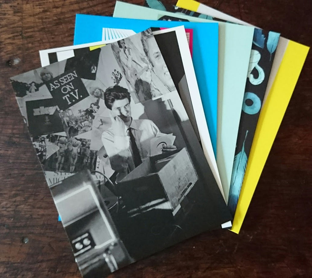 Caroline True Records Postcards - Ltd Edition Set of 6 Artwork Postcards