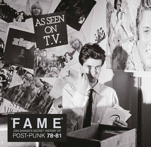 """Fame"" Jon Savage's Secret History Of Post-Punk (1978-81) (CTRUE8) - CTR"