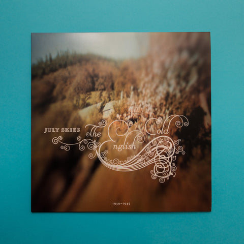 July Skies - The English Cold (V LTD 300 Vinyl Edition 180g Vinyl & Download ) - CTR - 1