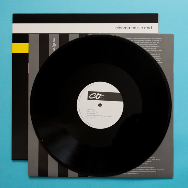 Pete Shelley - Cinema Music & Wallpaper Sounds (Ltd Vinyl Edition)