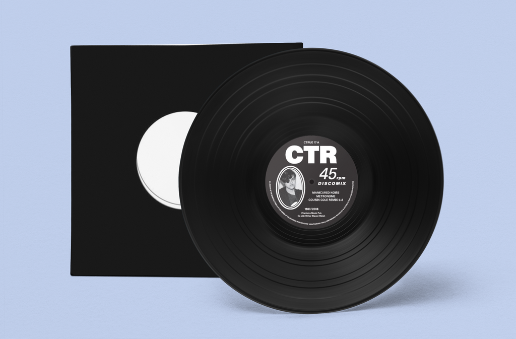 "Manicured Noise-Metronome (Cousin Cole 5-2 Remix ) 12""-Very Limited 300 Only!"