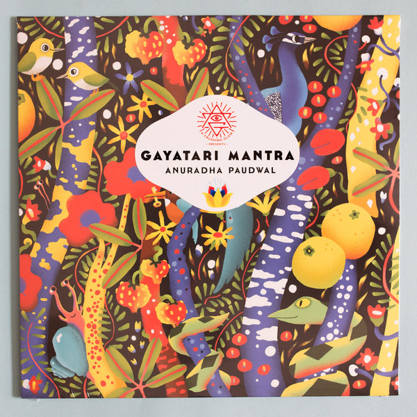 "Matt Sewell's A Crushing Glow Presents – The Gayatari Mantra-Anuradha & Kavita Paudwal LTD Golden Vinyl 12"" Caroline True Records"