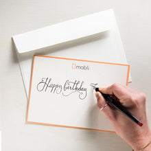 Carica l'immagine nel visualizzatore di Gallery, mobli gift option: Handwritten Greeting Card. Send a heartfelt message with a beautiful handwritten message on one of our eco-friendly envelopes.