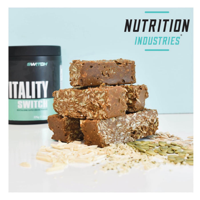 Vitality Switch Muesli Slice