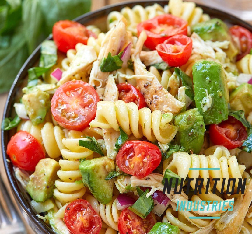 Healthy Chicken Pasta Salad