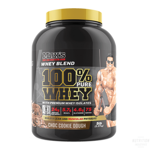 Max's 100% Pure Whey - Nutrition Industries Australia