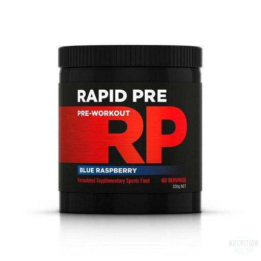 Rapid Pre Pre-WorkoutPre-workoutRapid Supplements - Nutrition Industries