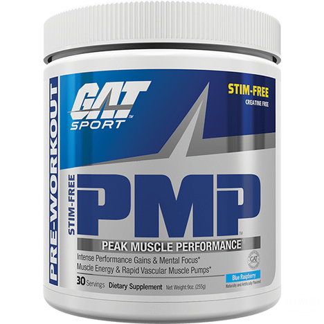 GAT PMP Stim-FreePump FormulaGAT - Nutrition Industries