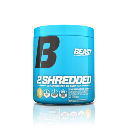 Beast 2Shredded 45 ServesFat BurnerBeast - Nutrition Industries