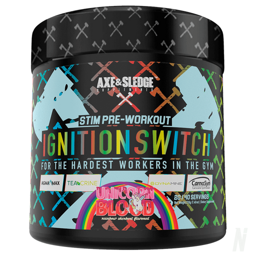 Axe & Sledge - Ignition Switch Pre workout