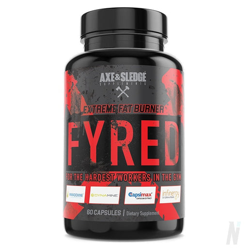 Axe & Sledge - Fyred Extreme Fat burner