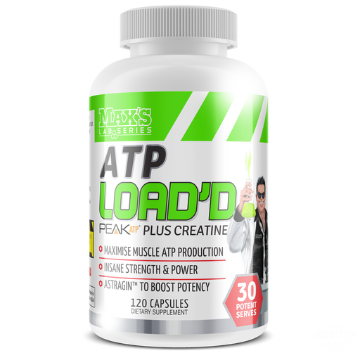 ATP LOAD'DCreatineMAX'S - Nutrition Industries