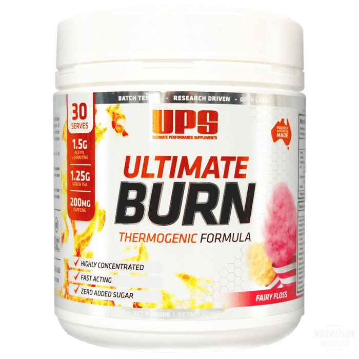 UPS Ultimate BurnThermoUPS - Ultimate Performance Supplements - Nutrition Industries