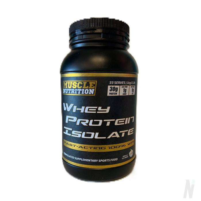 Muscle Nutrition Whey Protein Isolate - WPI