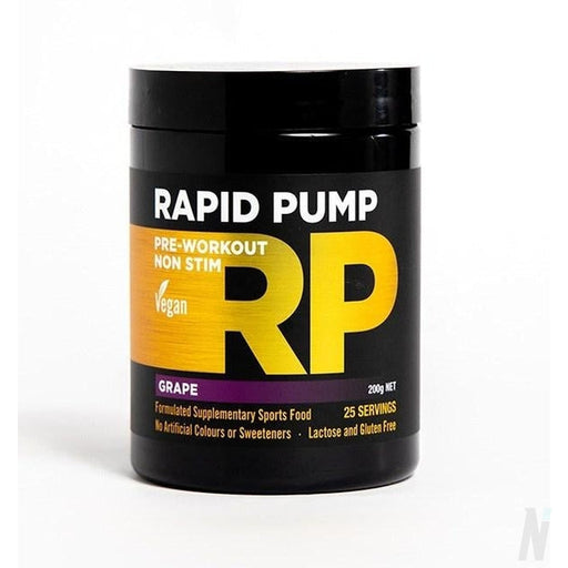 RAPID Supplements PUMP Pre workout
