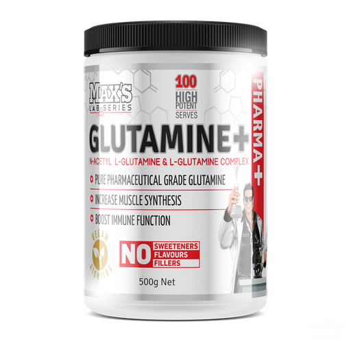 Max's Glutamine - Nutrition Industries Australia