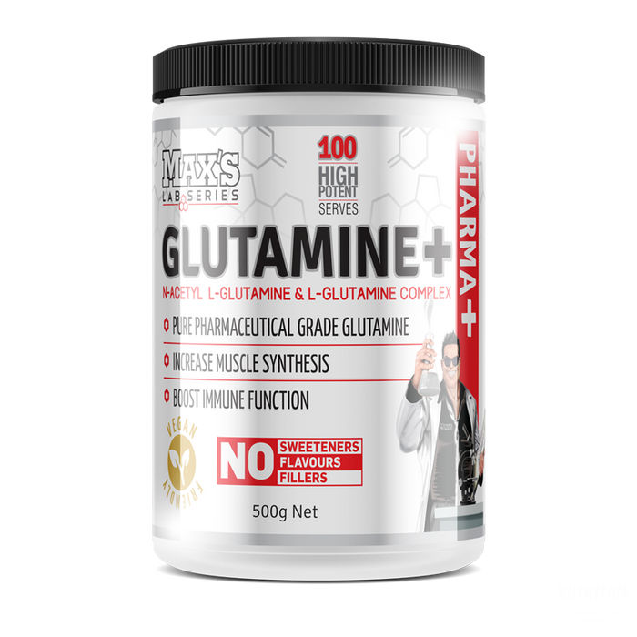 Max's GlutamineGlutamineMAX'S - Nutrition Industries