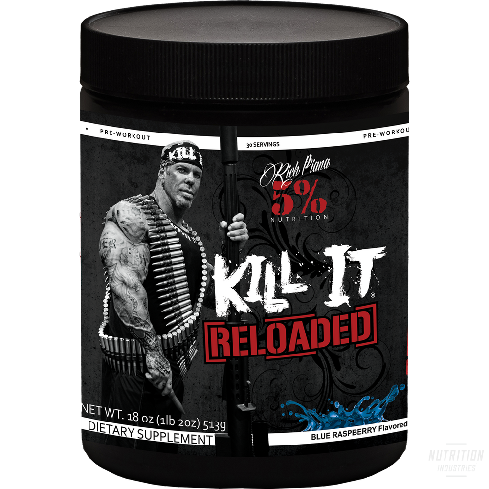 5% Nutrition Kill It ReloadedPre-workout5% Nutrition - Nutrition Industries