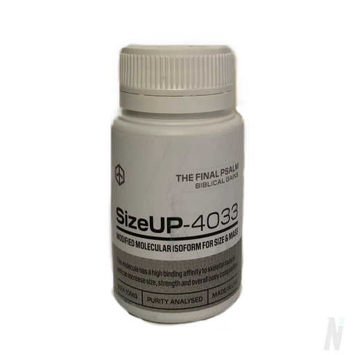 The Final Psalm SizeUP - 4033Nano Peptide / SARMThe Final Psalm - Nutrition Industries