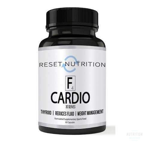 Reset Nutrition - F CardioFat BurnerReset Nutrition - Nutrition Industries