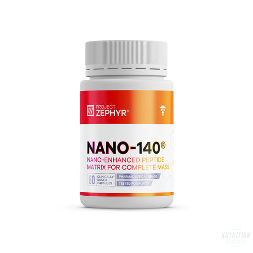 Project Zephyr  Nano-140 - Nutrition Industries Australia