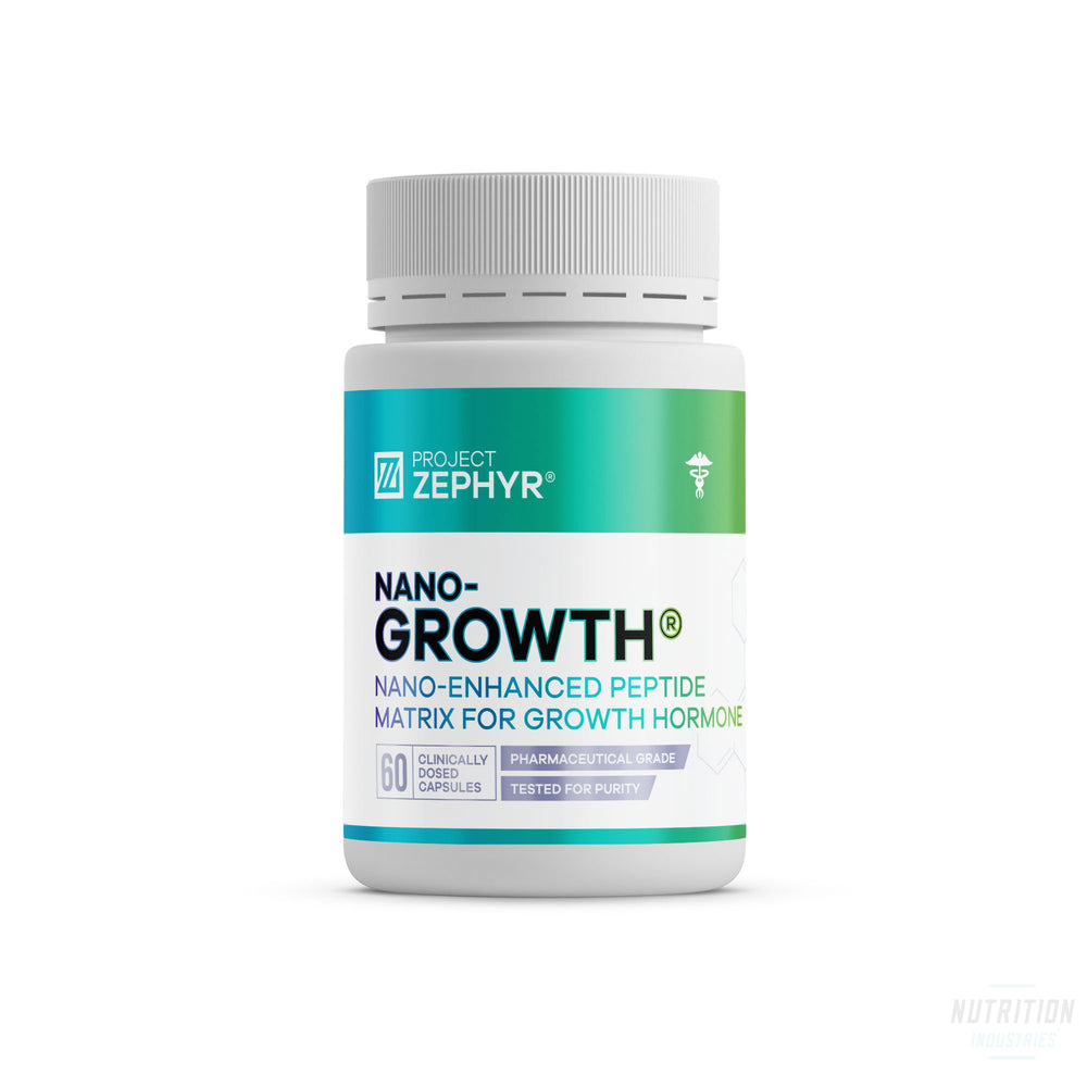 Project Zephyr  Nano-GROWTHNano Peptide / SARMProject Zephyr - Nutrition Industries