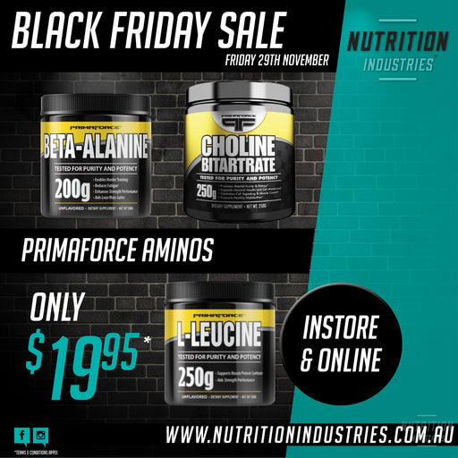 Primaforce Amino Choline Bitartrate, Beta Alanine, L-leucineAminoPrimaforce - Nutrition Industries