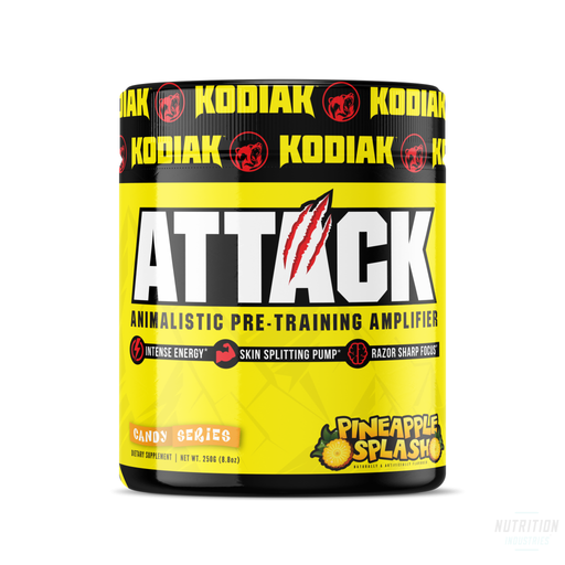 Kodiak Attack Pre WorkoutPre-workoutKodiak - Nutrition Industries