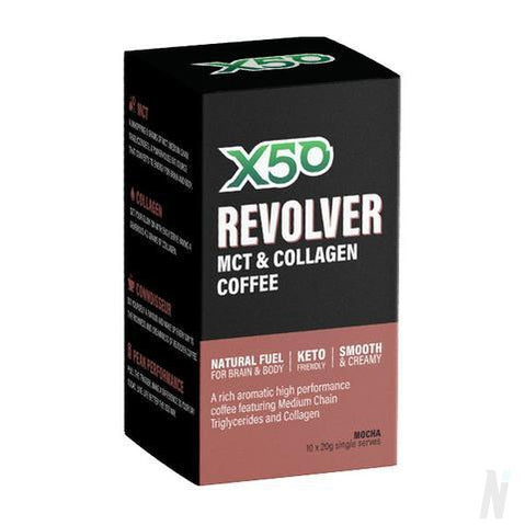 X50 Revolver MCT Coffee and Superfood
