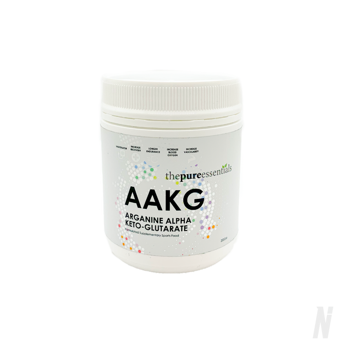 The Pure Essentials - AAKG (Arginine Alphaketoglutarate)