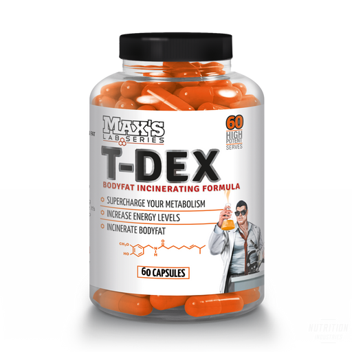 Max's Lab Series T-Dex - Nutrition Industries Australia