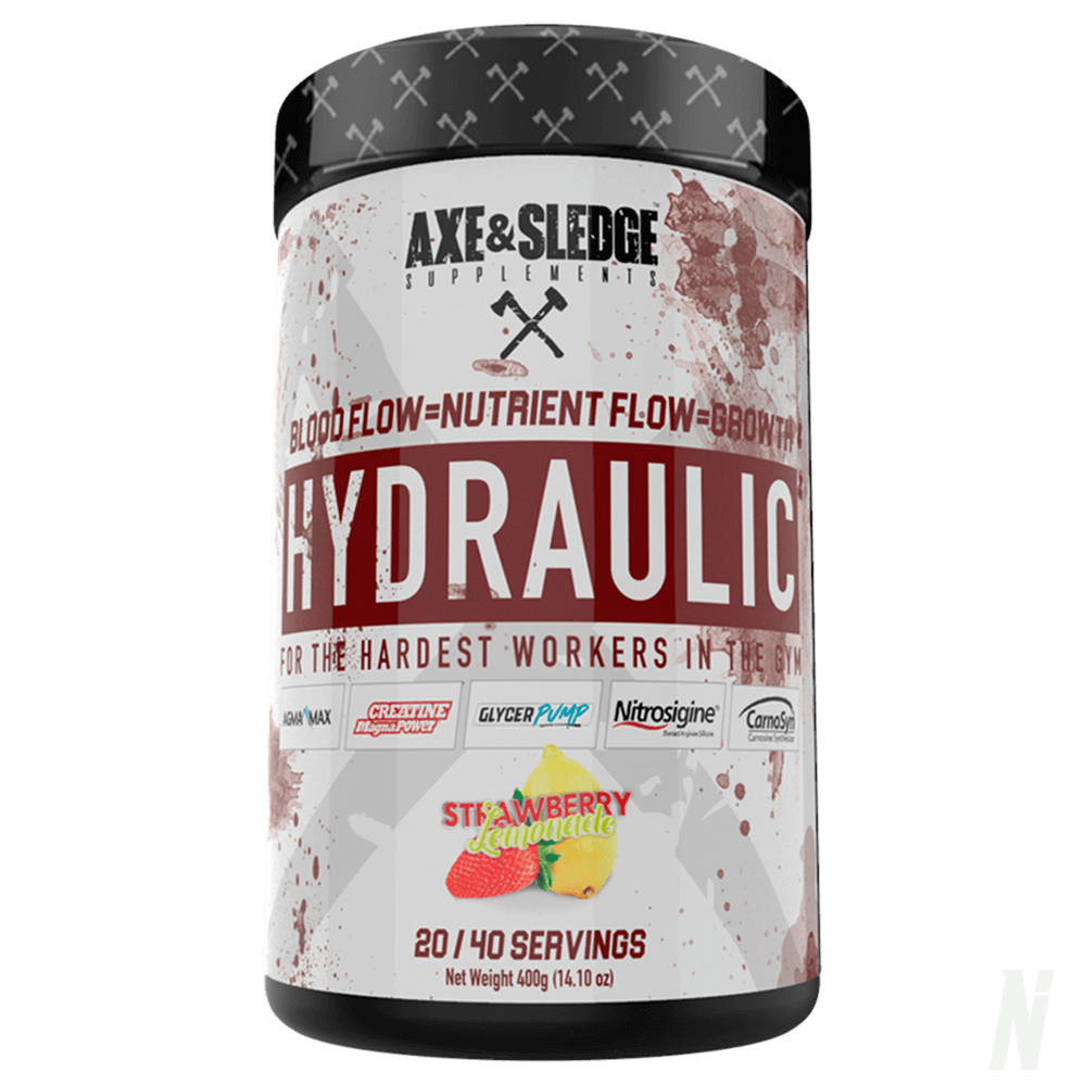 Axe & Sledge Hydraulic - Stimulant-Free Pre-Workout