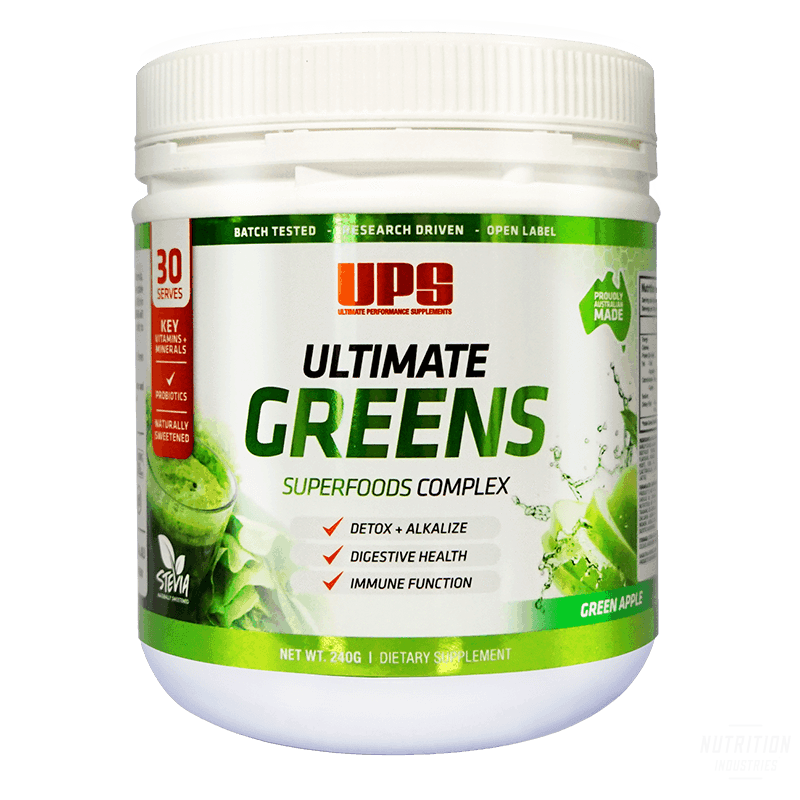 UPS Ultimate GreensHealth & WellnessUPS - Ultimate Performance Supplements - Nutrition Industries