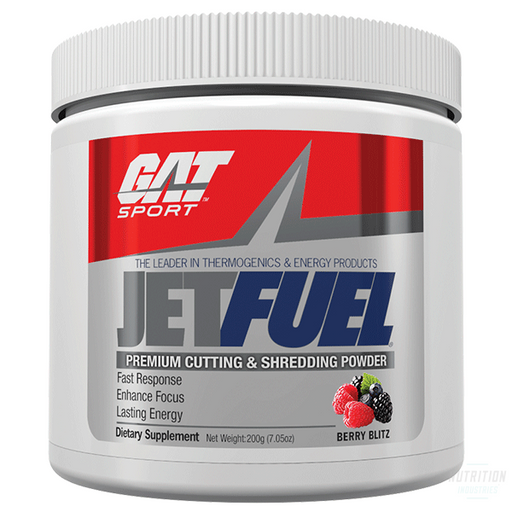 GAT Jet Fuel 200gFat BurnerGAT - Nutrition Industries