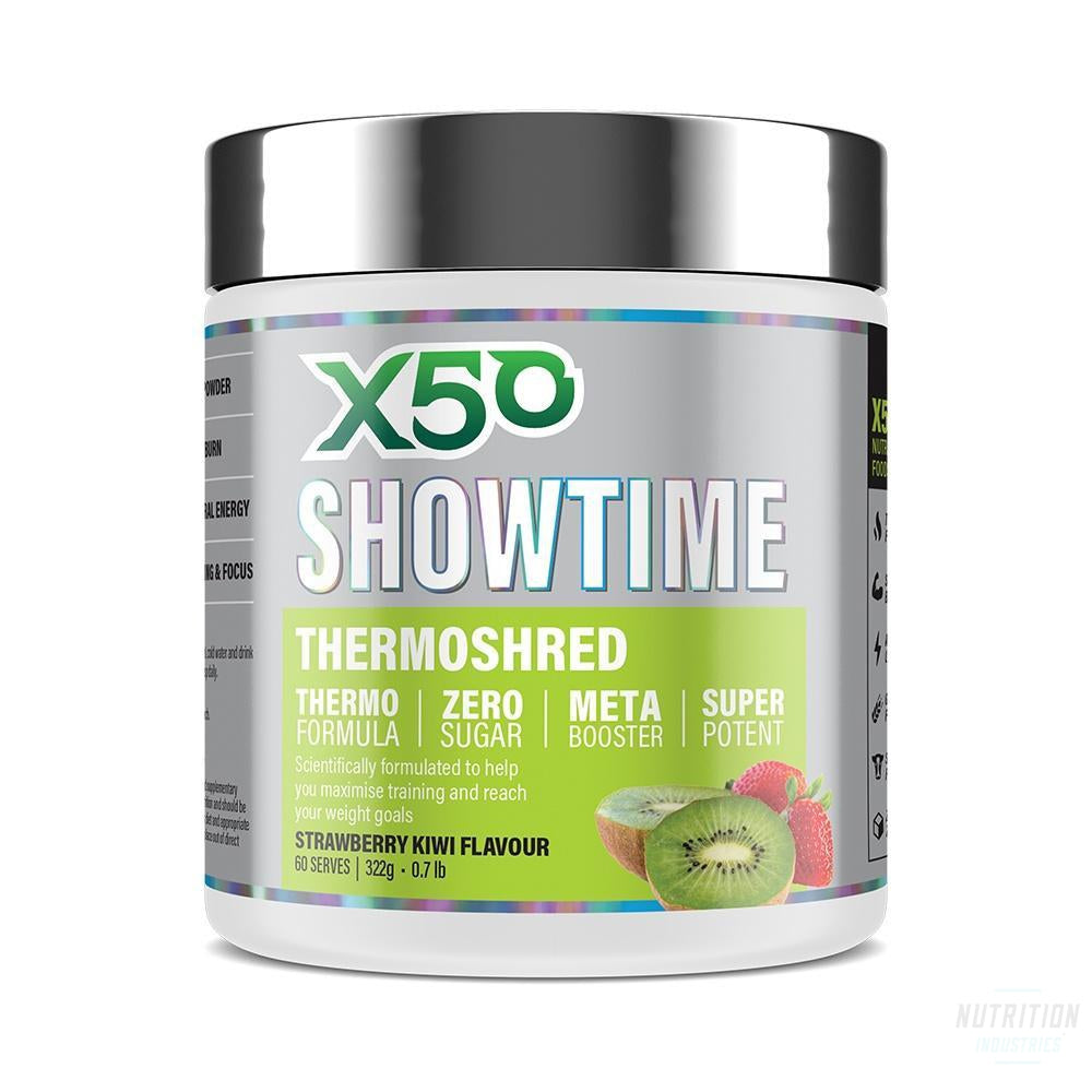 X50 Showtime ThermoshredFat BurnerX50 - Nutrition Industries