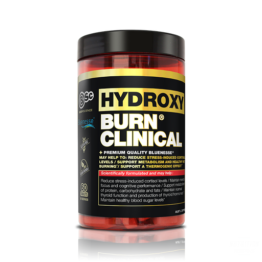 BSC Hydroxy burn Clinical TabsFat BurnerBsc - Nutrition Industries