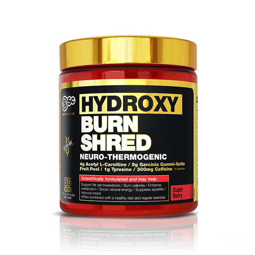 Bsc Hydroxy Burn Shred Neuro-Thermogenic 60ServesFat BurnerBsc - Nutrition Industries