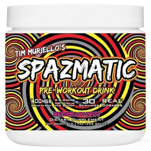 SpazmaticPre-workoutTim Muriello's - Nutrition Industries