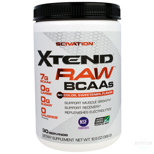 Scivation Xtend Raw 30 ServeBCAAScivation - Nutrition Industries