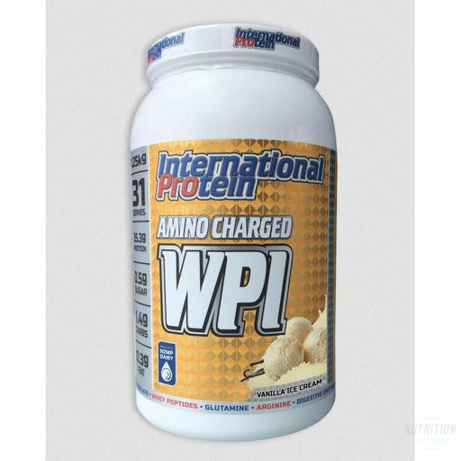 International Protein Amino Charged WPIProteinInternational Protein - Nutrition Industries