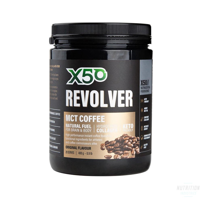 X50 Revolver MCT CoffeeGeneralX50 - Nutrition Industries