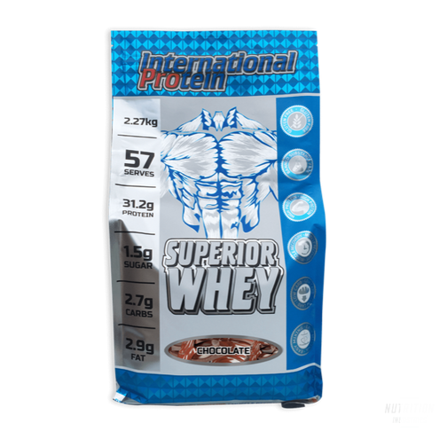 International Protein Superior WheyProteinInternational - Nutrition Industries
