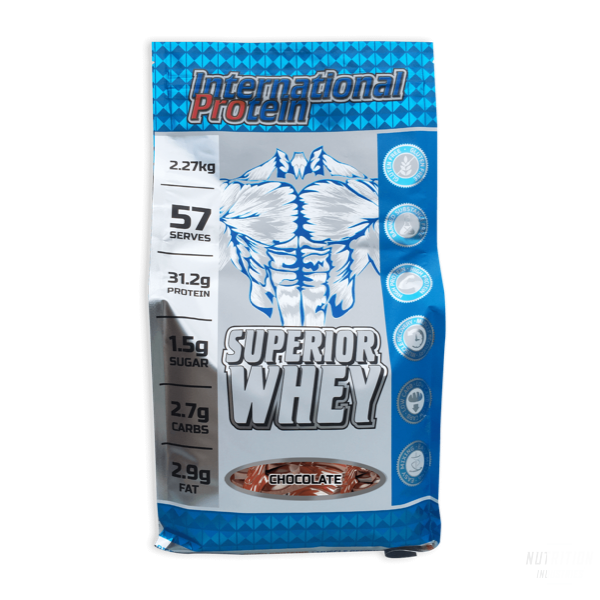 International Protein Superior WheyProteinInternational Protein - Nutrition Industries