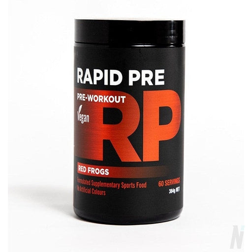 Rapid Pre Vegan Pre-workoutPre-workoutRapid Supplements - Nutrition Industries