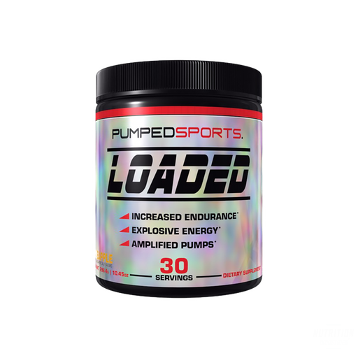 Pumped Sports Loaded Pre-workoutPre-workoutPumped Sports - Nutrition Industries