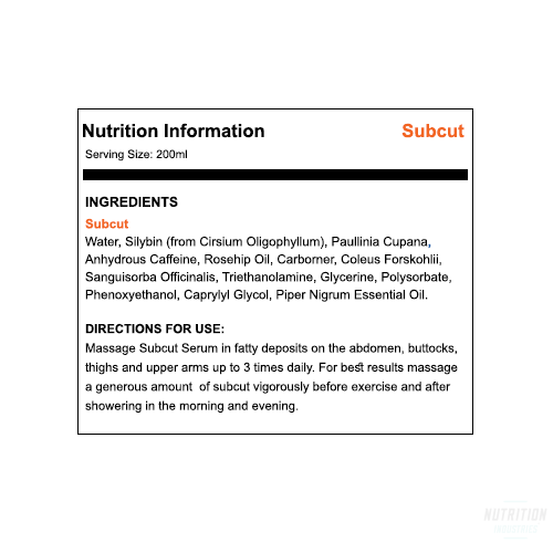 ATP Subcut 200mlCreams/LotionsATP SCIENCE - Nutrition Industries