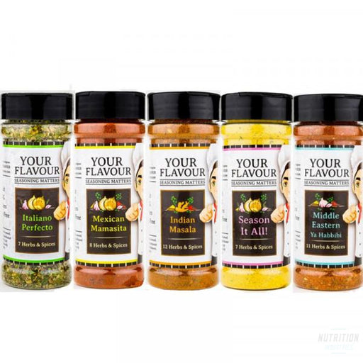 Your Flavour HerbsNutrition Industries Australia - Nutrition Industries