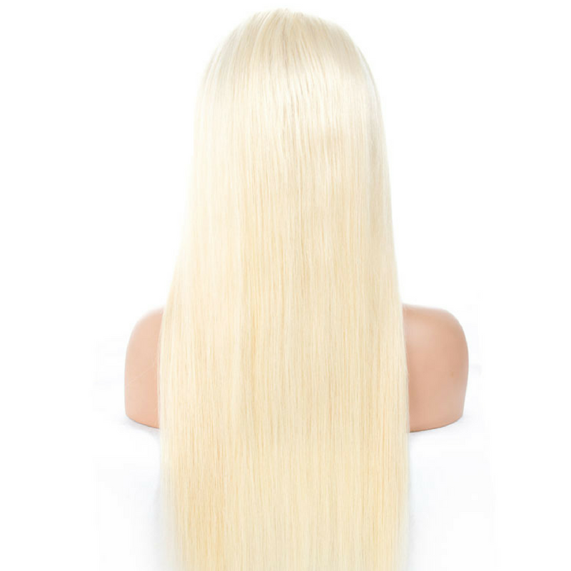 Full Lace Wig  - #613 Blonde Straight