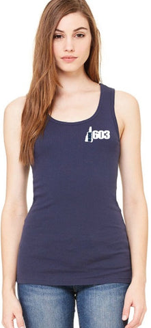 Ride 603 Ribbed Tank Top (Embroidered)