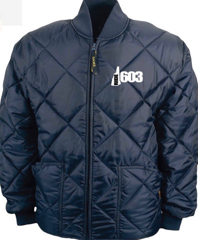 Ride 603 Quilted Work Jacket (Embroidered)